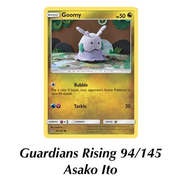 Guardians Rising Goomy. Credit: Pokémon TCG