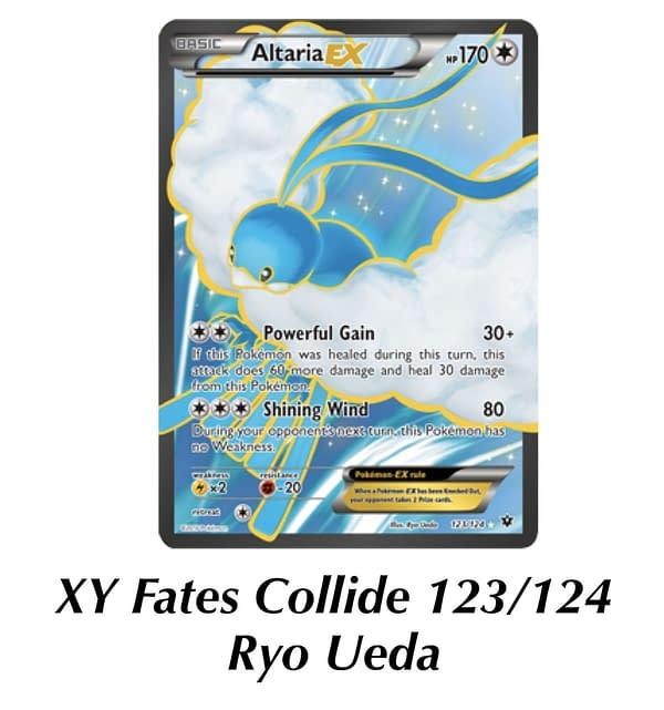 Fates Collide Altaria. Credit: Pokémon TCG
