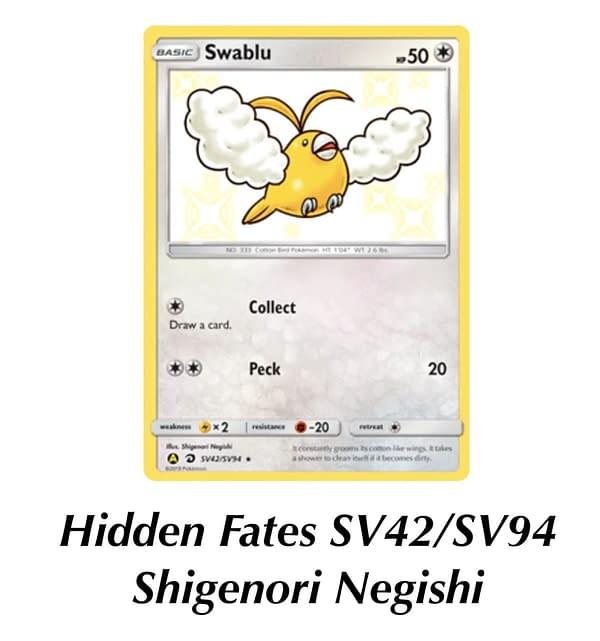 Hidden Fates Swablu. Credit: TPCI