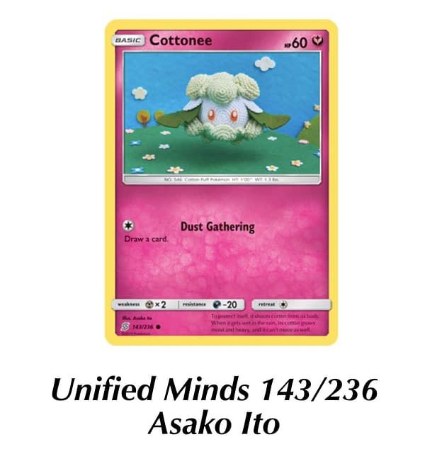 Unified Minds Cottonee. Credit: TPCI