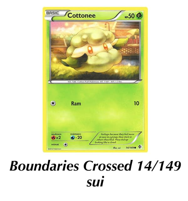 Boundaries Crossed Cottonee. Credit: TPCI