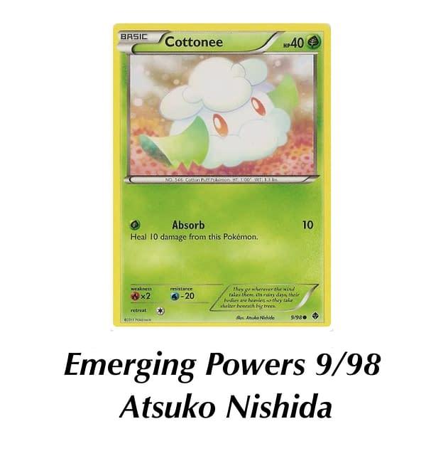 Emerging Powers Cottonee. Credit: Pokémon TCG