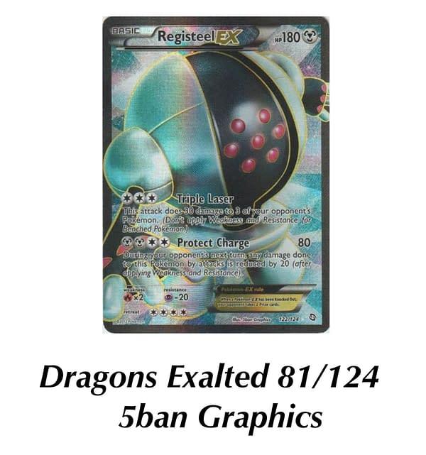 Dragons Exalted Registeel. Credit: Pokémon TCG