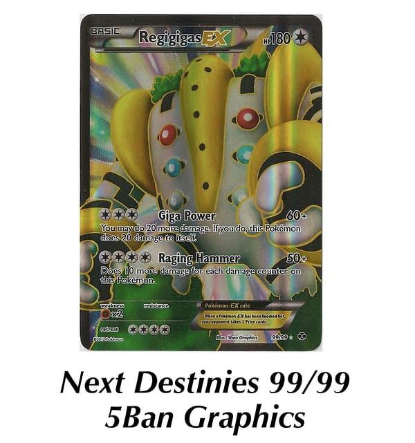 Next Destinies Regigigas. Credit: Pokémon TCG