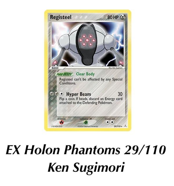 EX Holon Phantoms Registeel. Credit: Pokémon TCG