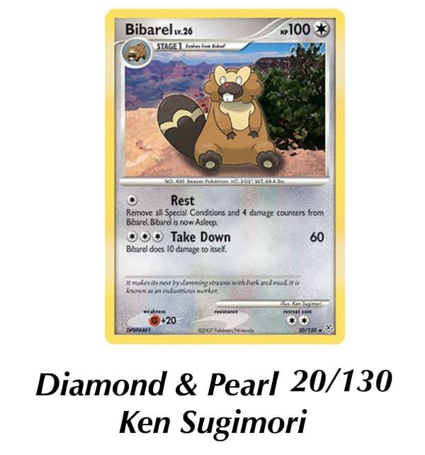 Diamond & Pearl Bibarel. Credit: Pokémon TCG