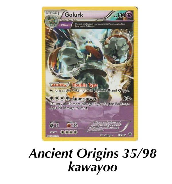 Ancient Origins Golurk. Credit: TPCI