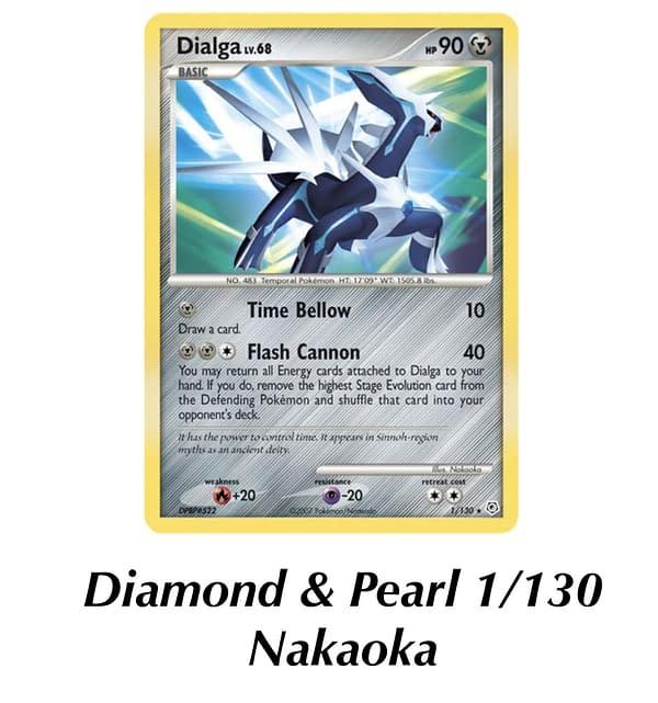 Diamond & Pearl Dialga. Credit: Pokémon TCG