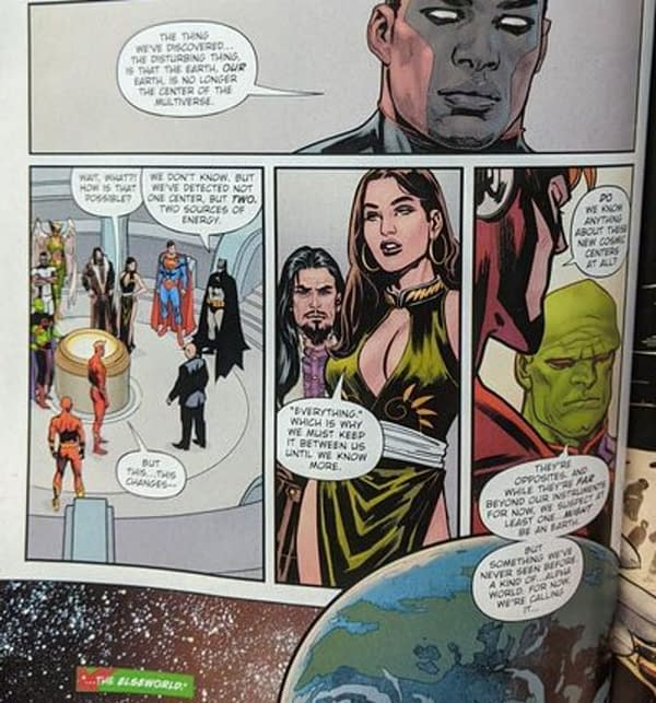 Justice League The Last Ride From The Elseworld?
