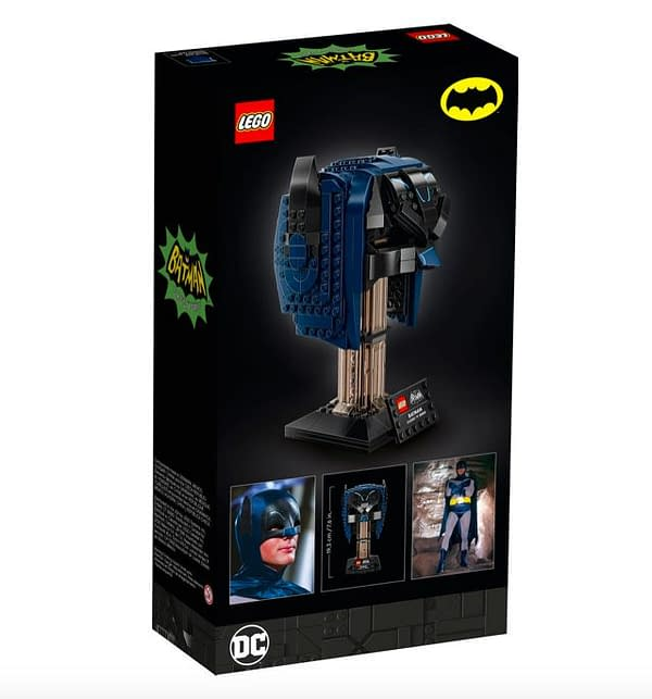 Build The Batman 1966 Cowl With LEGO's Newest Model Kit