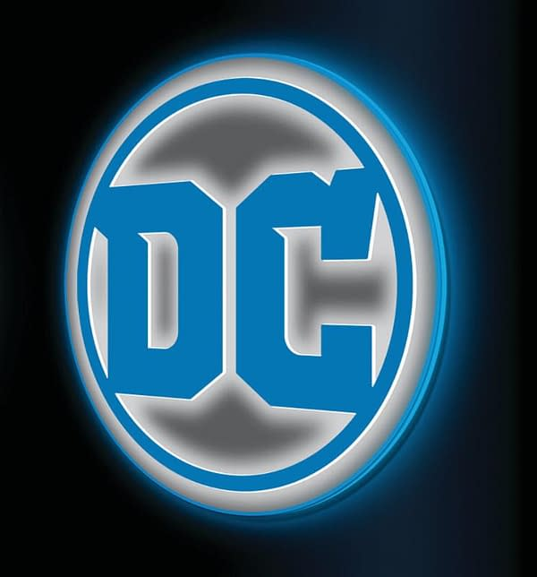Will Your Store Get One Of These DC Comics Logo LED Signs?