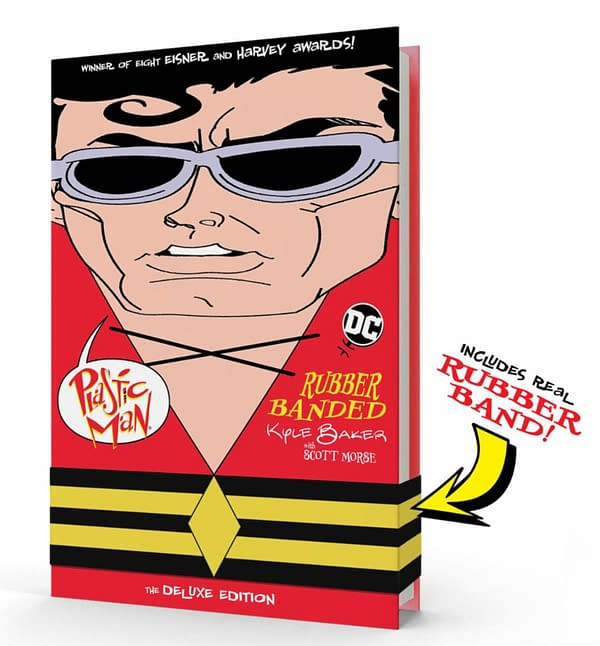 Kyle Baker's Plastic Man : Rubber Banded Actually Has A Rubber Band.
