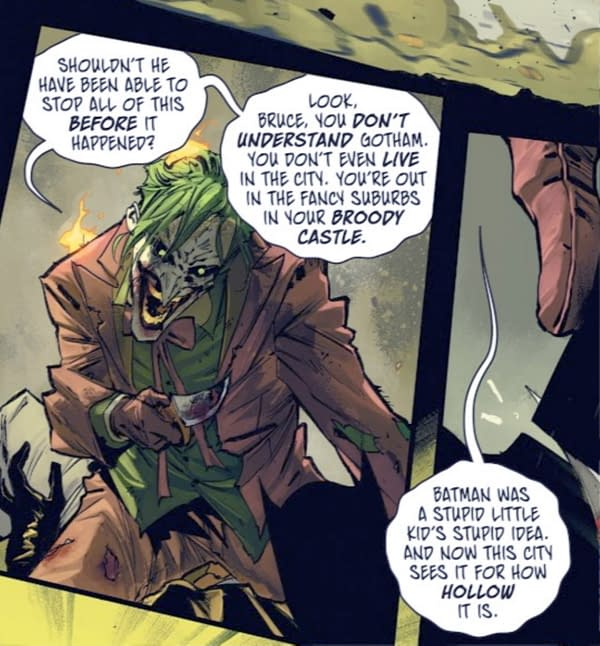 How The Joker Makes a New Gotham and a New Batman (#100 Spoilers)