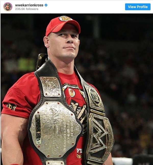 John Cena vs Karrion Kross? The Two Might Be Teasing Something