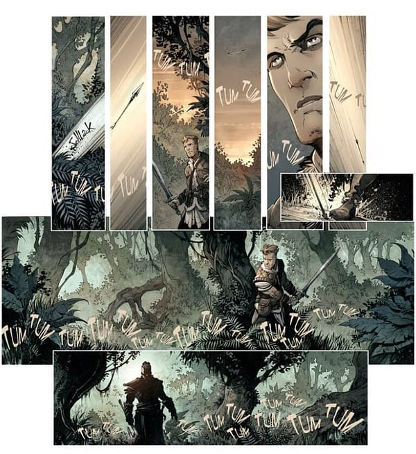 More from Glenat's Conan the Barbarian Series Starting This Year