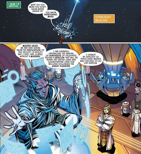How The Force Looks To Keeve Trennis - Star Wars The High Republic #1