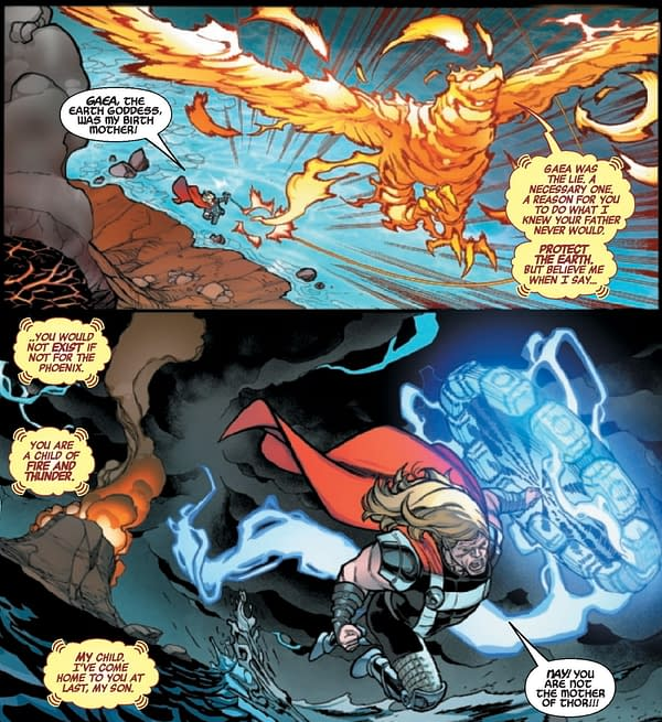 Phoenix Insists She's Thor's Mother In Avengers #43
