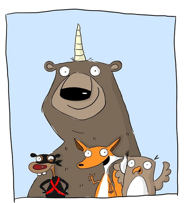 Bizard, The Bear Wizard, a New Young Graphic Novel byChrissie Krebs