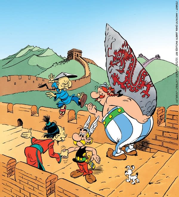 How Fast Was This Asterix Promotional Image Taken Down?