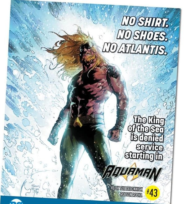 First Look at Kelly Sue DeConnick and Robson Rocha's Aquaman