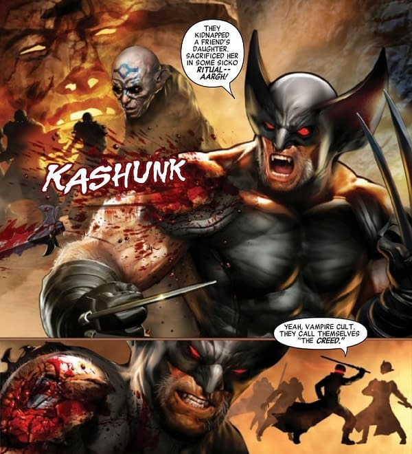Wolverine vs. Blade: With Eyes Wide Open [Preview]