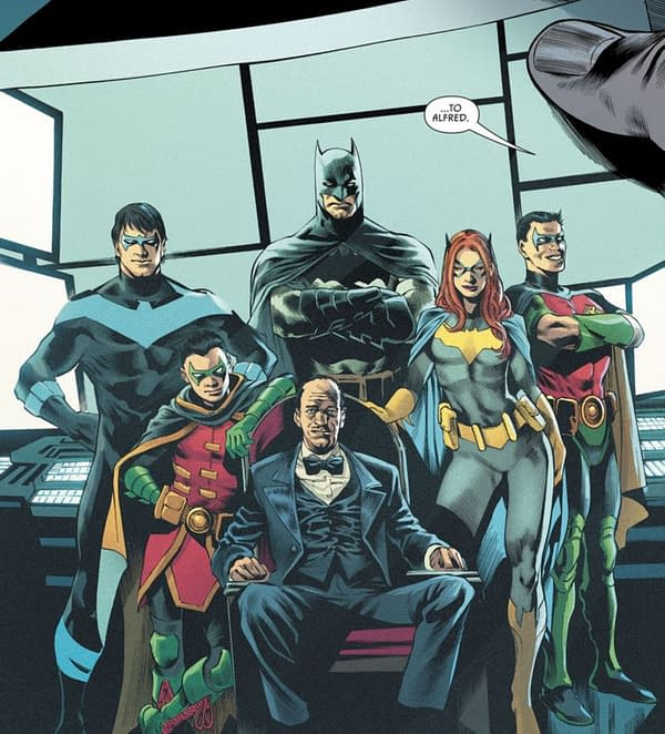 James Tynion IV On Being Told To Write Alfred Pennyworth's Funeral