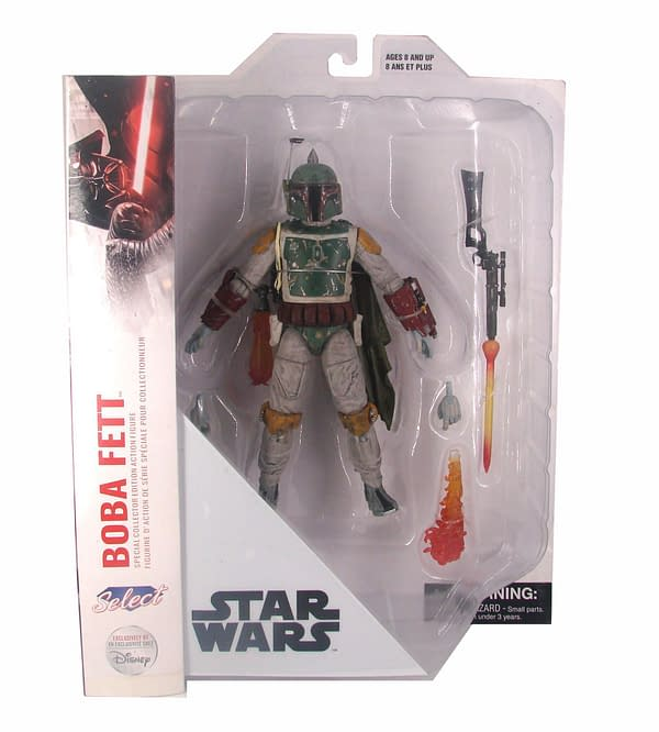 Star Wars Boba Fett Gets New Exclusive Figure from Diamond Select