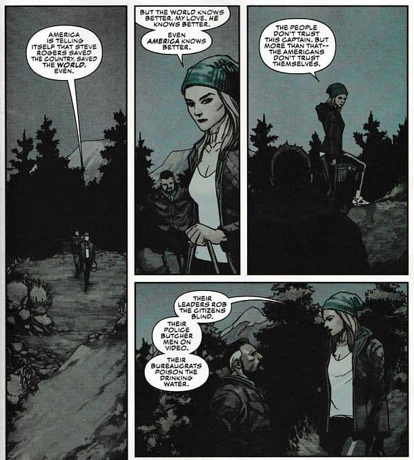 Captain America Still Can't Let Go Of Secret Empire… (#6 Spoilers)