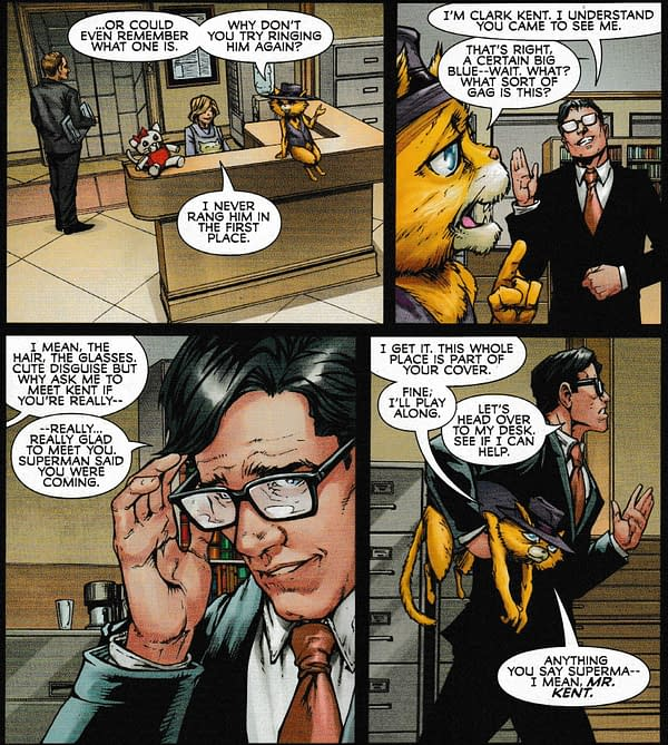 That Superman/Top Cat/Uncanny X-Men Crossover In Full (Spoilers)