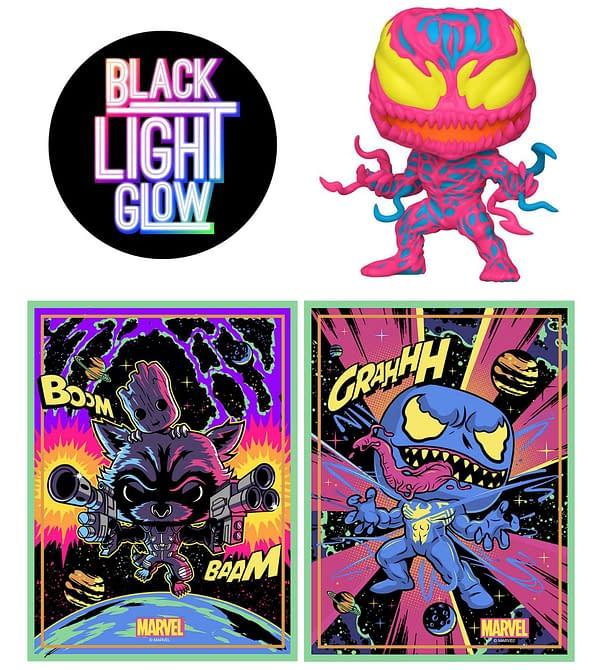 Funko Unveils Marvel Black Light for Today's FunkoShop Drop