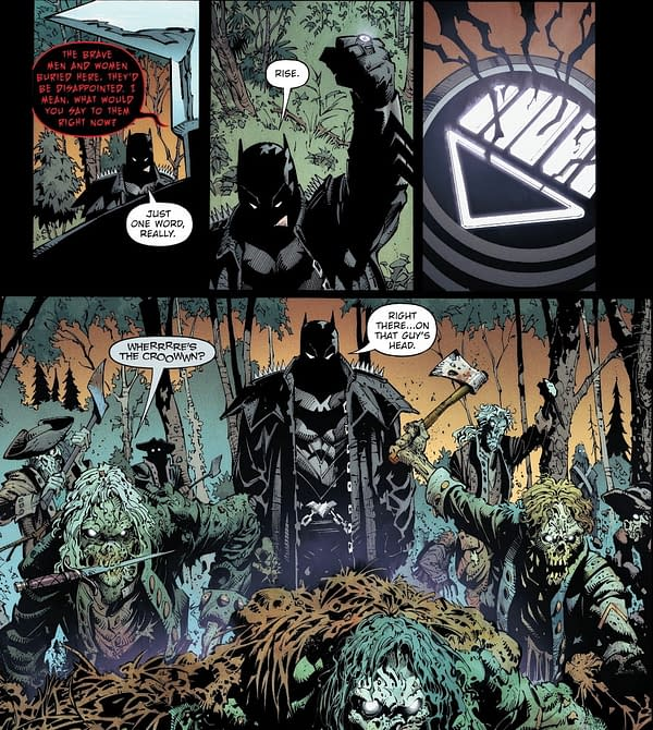 The Death Of Batman In Death Metal #5? (Spoilers)