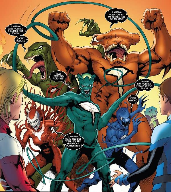 X-Men: Bland Design – The X-Men/Venom Crossover U Demanded Begins in X-Men Blue Annual #1