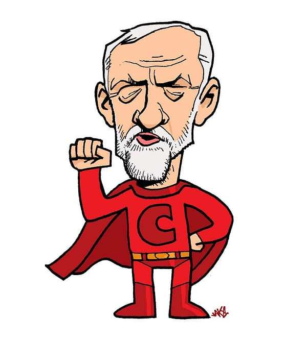 Oh, Jeremy Corbyn! Open Call For Comics About The Man And The Myth For Graphic Novel