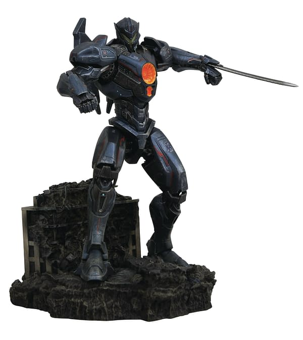 Pacific Rim Gypsy Danger Gallery Statue Diamond Select Toys