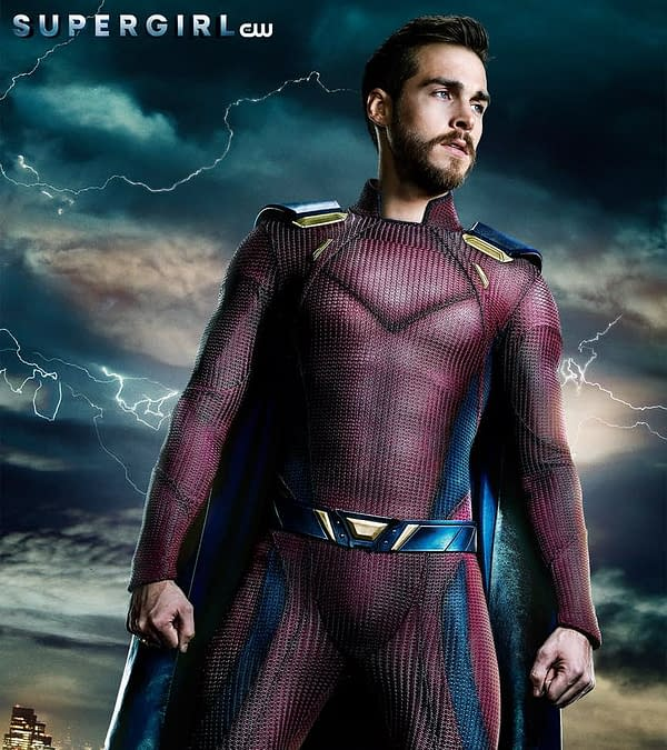 Supergirl Season 3: First Official Poster of Mon-El's New Uniform