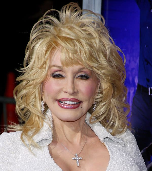 "Dolly Parton at the Los Angeles Premiere of ""Joyful Noise"" held at the Grauman's Chinese Theater in Los Angeles, California, United States on January 9, 2012. (Image: Tinseltown / Shutterstock.com)"