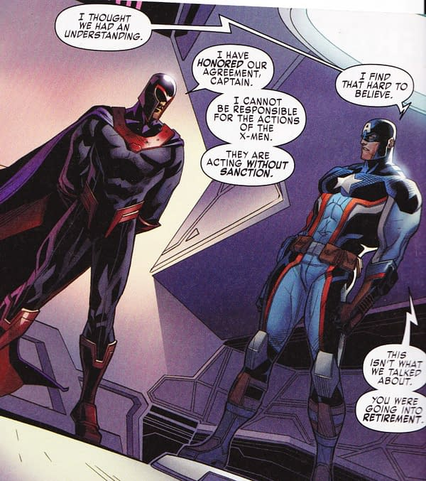 How Imperical Are Your Secret Empire Crossovers Today? Brave New World #5, US Avengers #9, X-Men Blue #9… And Black Panther And The Crew #5?