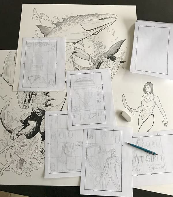 Frank Cho is Starting a Brand New Creator-Owned Comic