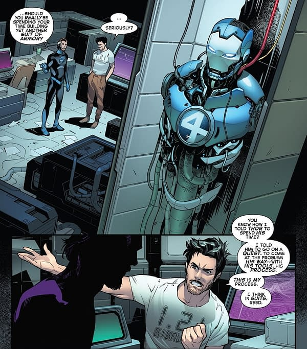 What Tony Stark's New Iron Man Suit Can Do, Who It's For In Empyre #5