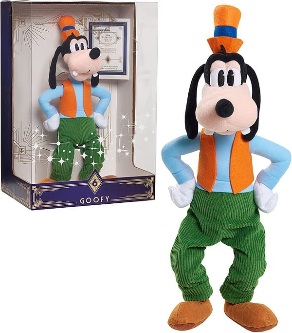 Limited Edition Disney Treasures From the Vault Goofy Plush Arrives
