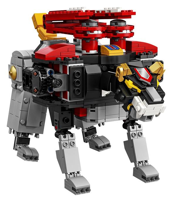 LEGO Ideas Voltron Set 5