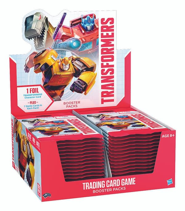 Hasbro and Wizards of the Coast Announce Transformers Trading Card Game