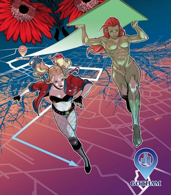 DC Comics Publishes a Harley Quinn/Poison Ivy Series From September