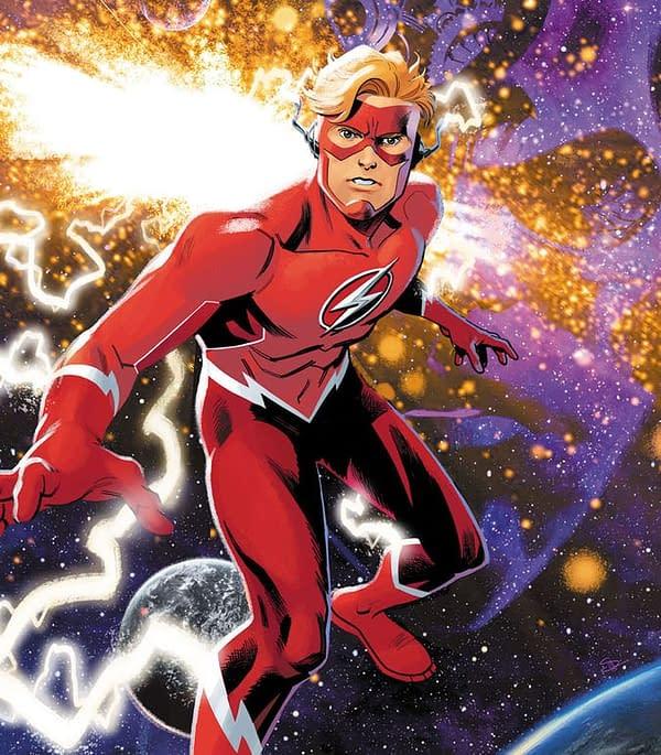 Scott Lobdell, Brett Booth and Norm Rapmund Launch New Wally West Series, Flash Forward