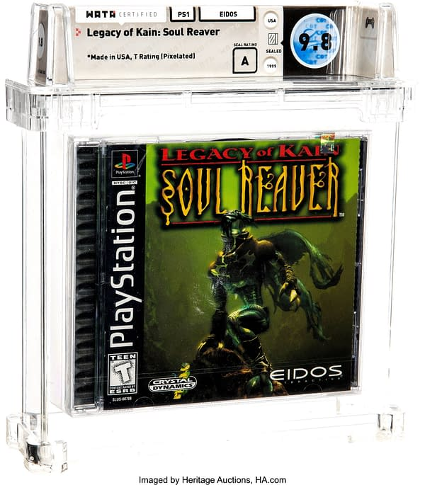 Graded Legacy of Kain: Soul Reaver Taking Bids Right Now At Heritage
