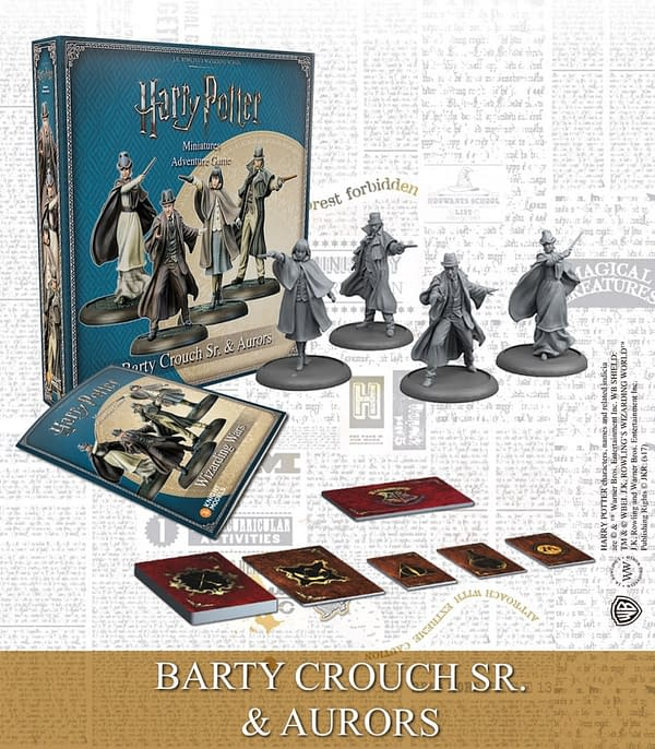 The Crouch Family Feud Spreads to the Harry Potter Miniature Game