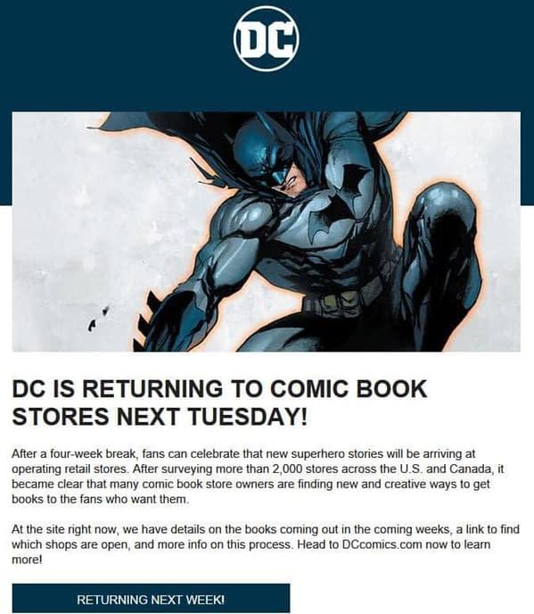Alan Gill Boycotts New DC Comics Distributors in Favour of Diamond.