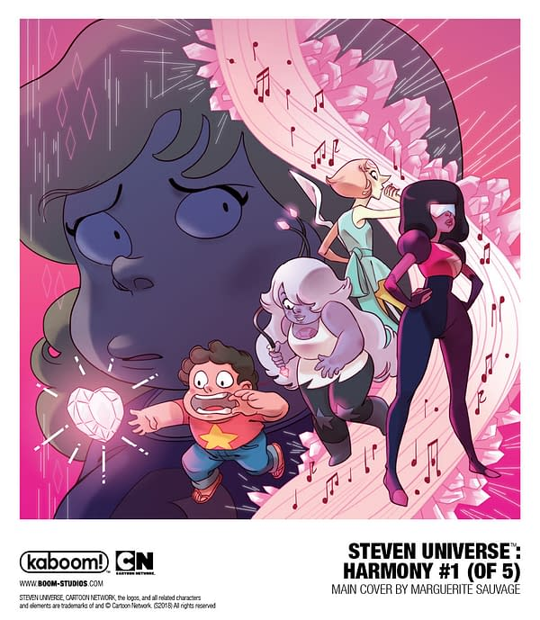 Boom to Launch 'Steven Universe: Harmony' 5-Issue Mini in August