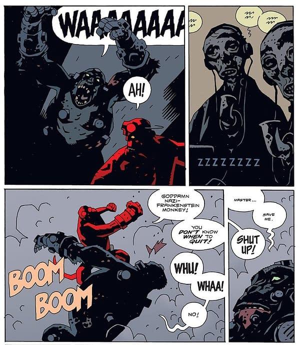 Mike Mignola Suggests That Nazi-Punching Hellboy Might Vote Biden/Harris