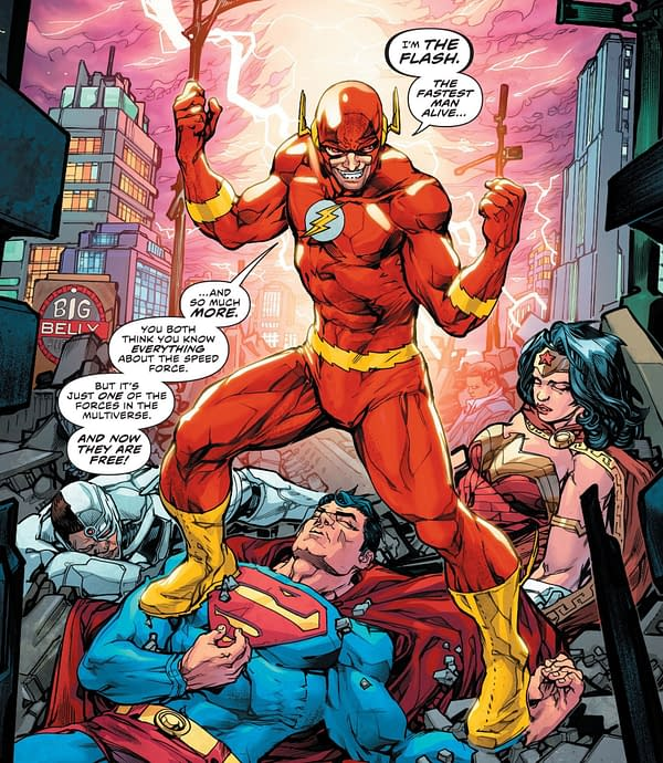 Defining the 6 New Forces in the DC Universe